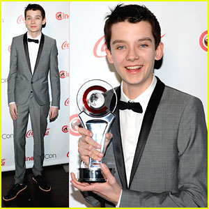 Asa Butterfield: 'Rising Star' at CinemaCon Awards 2013
