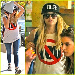 Ashley Benson: Dope Hat Hottie