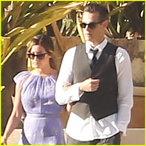 Ashley Tisdale & Christopher French: Wedding in Mexico