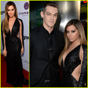 Ashley Tisdale & Christopher French: 'Scary Movie 5' Premiere