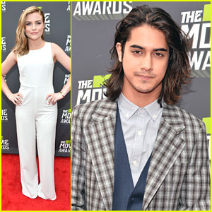 Avan Jogia & Maddie Hasson -- MTV Movie Awards 2013