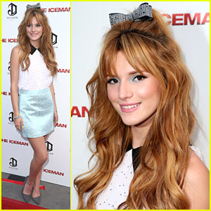 Bella Thorne: 'The Iceman' Premiere
