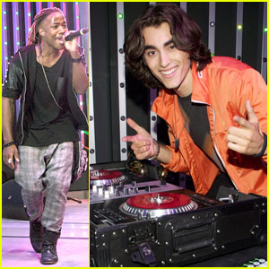 Blake Michael & Leon Thomas: Universal City Walk Performers!