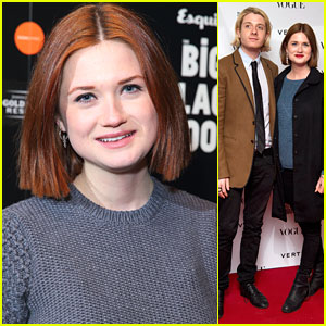 Bonnie Wright: Vogue Festival 2013