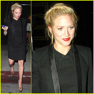 Brittany Snow: Night Out at Bootsy Bellows