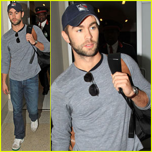 Chace Crawford: LAX Arrival