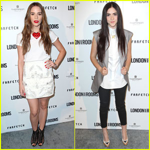 Christa B. Allen & Isabelle Fuhrman: 'London Show Rooms LA' Event