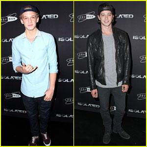 Cody Simpson & Chris Galya: 'Isolated' Premiere