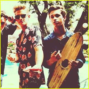 Cody Simpson & Ryan Beatty: 'Pretty Brown Eyes'  Video Shoot!