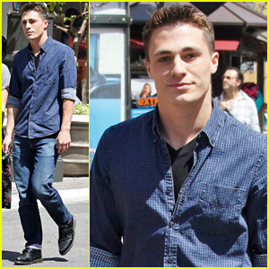 Colton Haynes: I'm Gaining Muscle For 'Arrow'