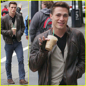 Colton Haynes: Vancouver Coffee Break