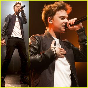 Conor Maynard: Paris Performance Pics!