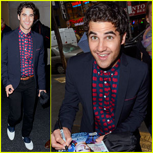 Darren Criss: 'Today Show' Stop