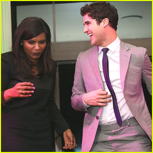 Darren Criss: Verte 2013 Fundraising Event with Mindy Kaling