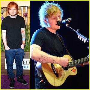Ed Sheeran: Nobu Grand Opening Performance