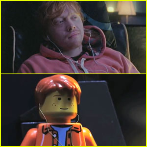 Rupert Grint: Ed Sheeranu0027s U0027Lego Houseu0027 Star   Watch Now!