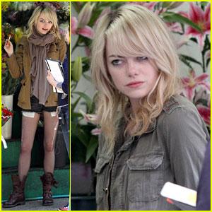 Emma Stone: 'Birdman' Filming in NYC!