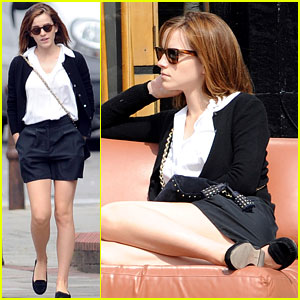Emma Watson: Lovely in London