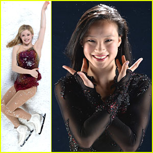 Gracie Gold & Christina Gao: Road To Sochi Portraits!