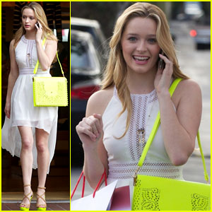 Greer Grammer: Fred Segal Shopper