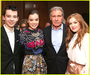 Hailee Steinfeld & Asa Butterfield: Lionsgate Press Conference During CinemaCon 2013