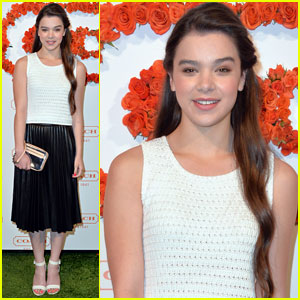 Hailee Steinfeld: Coach's Charity Evening