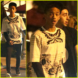 Jaden Smith: Saturday Night Out!
