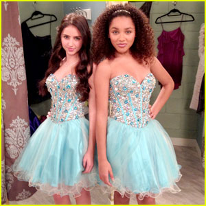 Ryan Newman & Jaylen Barron: Prom Dress Faceoff on 'See Dad Run' (Exclusive)