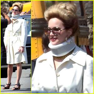 Jennifer Lawrence: Abscam Project Neck Brace