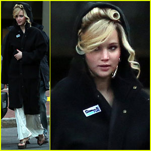 Jennifer Lawrence: Boston Night Shoot!