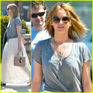 Jennifer Lawrence: Sunday Brunch Beauty