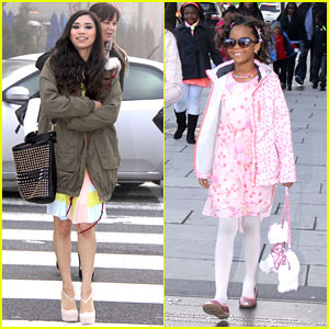 Jessica Sanchez & Quvenzhane Wallis: Easter Egg Roll in Washington, D.C.