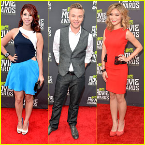 Jillian Rose Reed & Brett Davern -- MTV Movie Awards 2013