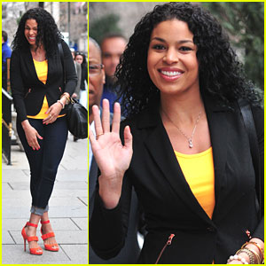 Jordin Sparks: Orange Heeled Hottie