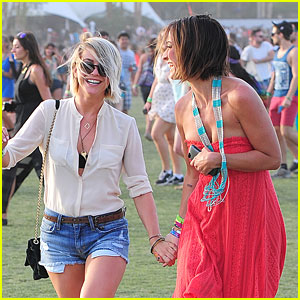 Julianne Hough: Last Day at Coachella