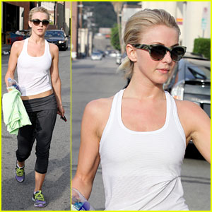 Julianne Hough: Morning Gym Goer