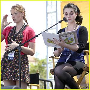 Katie Leclerc & Vanessa Marano: LA Times Book Festival Readers