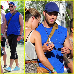 Kellan Lutz: Coachella Day 2!