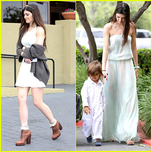 Kendall & Kylie Jenner: Easter Sunday Service