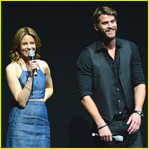 Liam Hemsworth: Lionsgate Press Conference at CinemaCon 2013