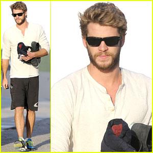 Liam Hemsworth Lands Lead in 'The Raven'?