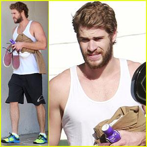 Liam Hemsworth: Monday Gym Session