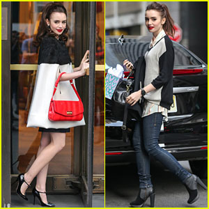 Lily Collins: NYC Photo Shoot Pretty