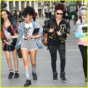 Little Mix: Fan Friendly Outside Capital FM Radio