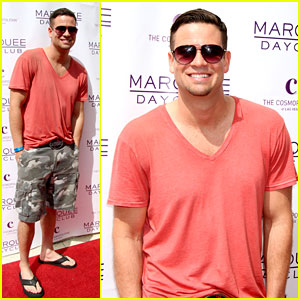 Mark Salling: Marquee Day Club Grand Opening