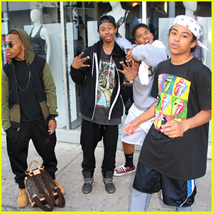 Mindless Behavior: NappyTabs Shoppers