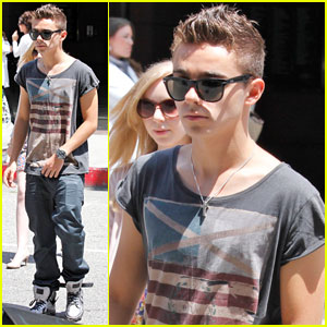 Nathan Sykes: Throat Surgery Follow-Up