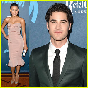 Naya Rivera & Darren Criss: GLAAD Media Awards 2013