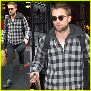 Robert Pattinson: Bye Bye, Big Apple