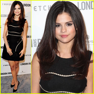Selena Gomez: British Fashion Council Event